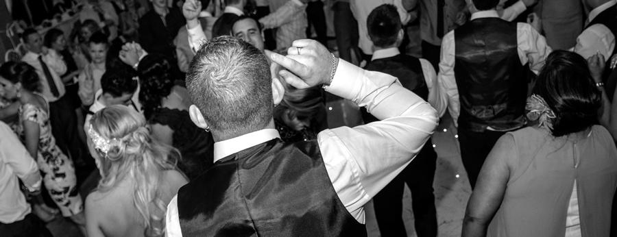 Juice Wedding Band Northern ireland | pic of Matthew on stage