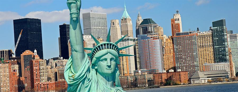 Juice Wedding Band Northern Ireland | pic of the Statue of Liberty