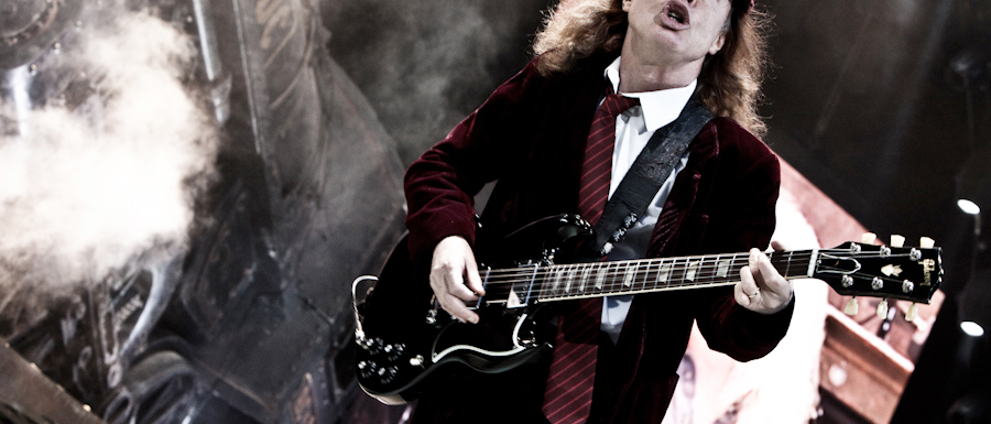 Juice Wedding Band Northern Ireland | pic of Angus from AC/DC