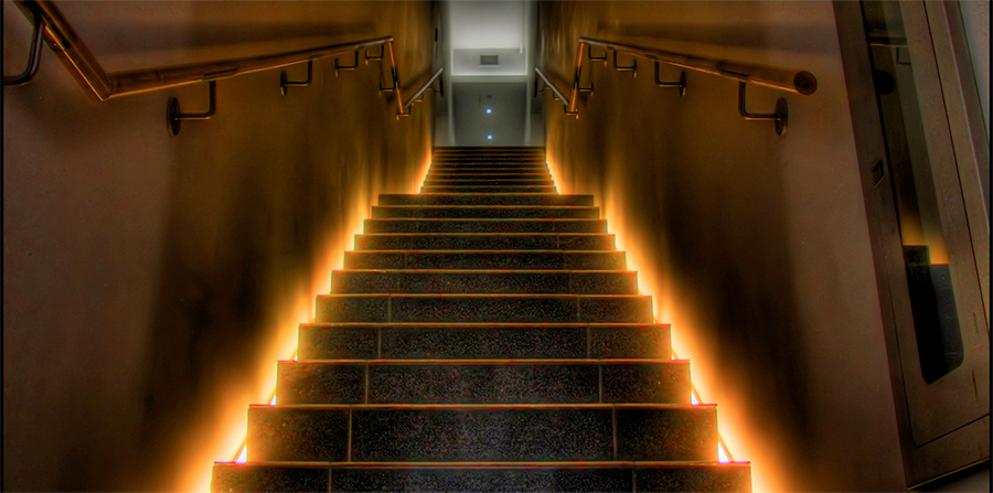 Juice Wedding Band Northern Ireland | pic of a creepy staircase