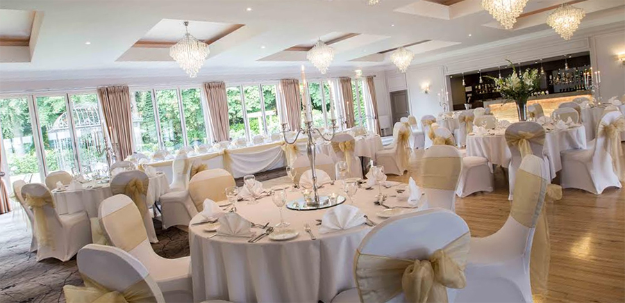 Juice Wedding Band Northern Ireland | pic of the Millbrook Lodge Ballynahinch wedding suite