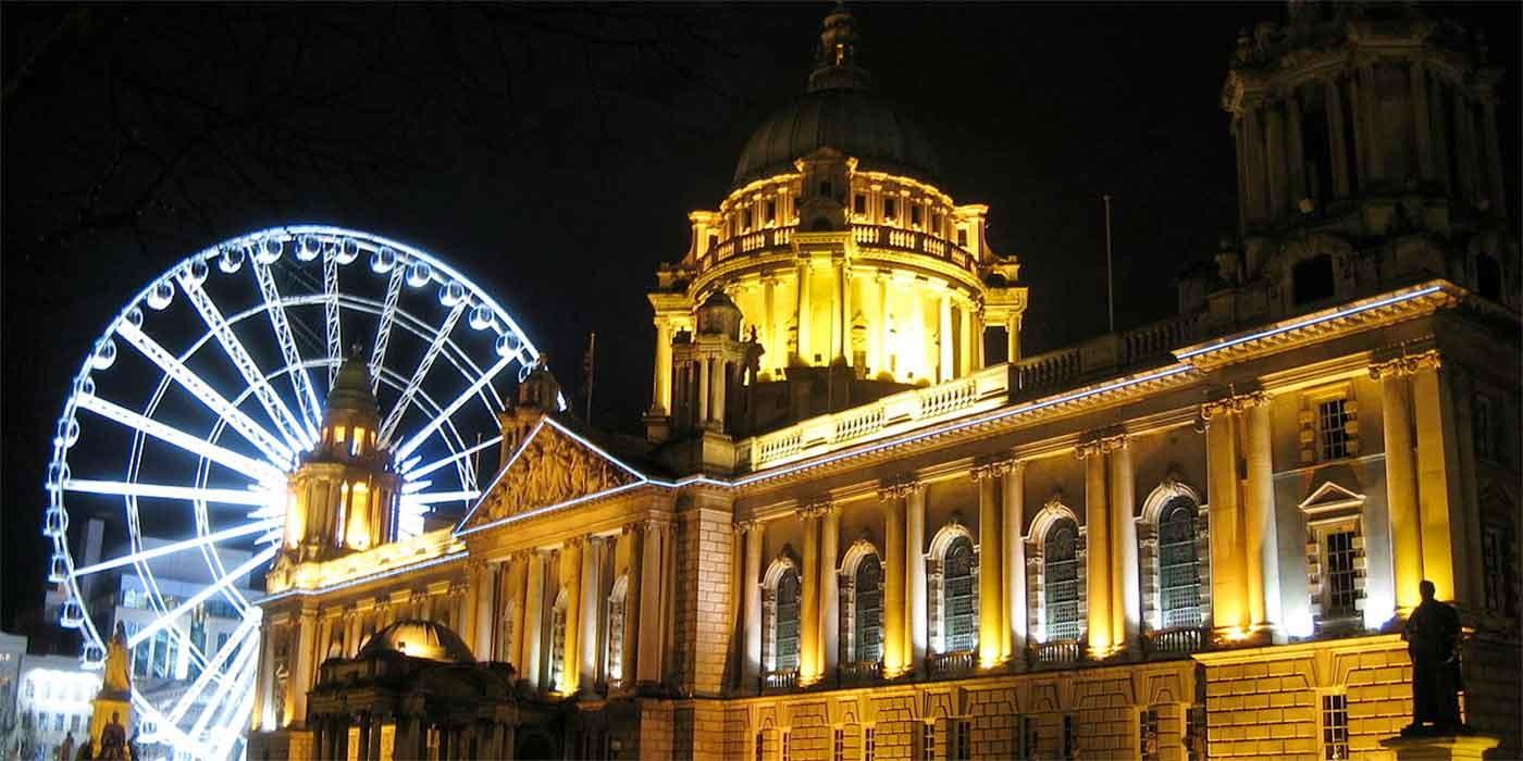 Juice Wedding Band Northern Ireland | pic of City Hall Belfast