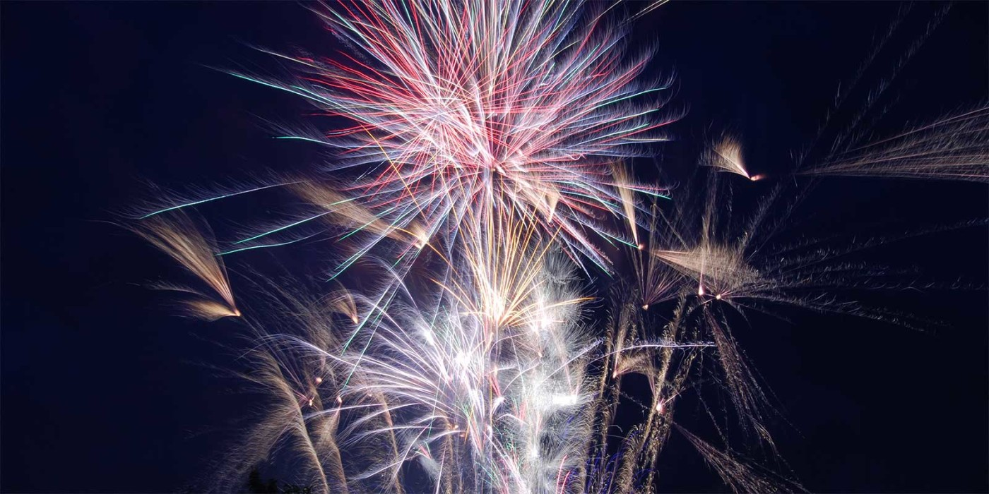 Juice Wedding Band Northern Ireland Pic Of A Fireworks Display
