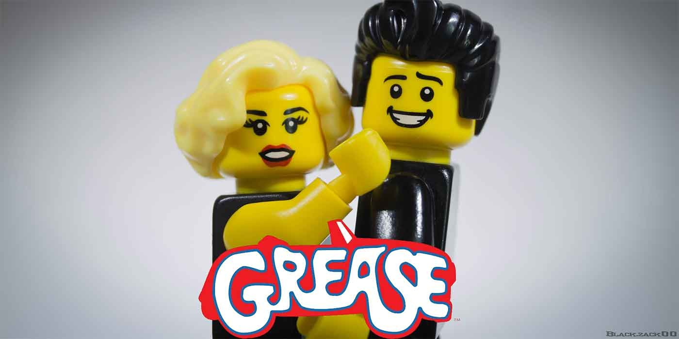 Photo of Grease lego characters