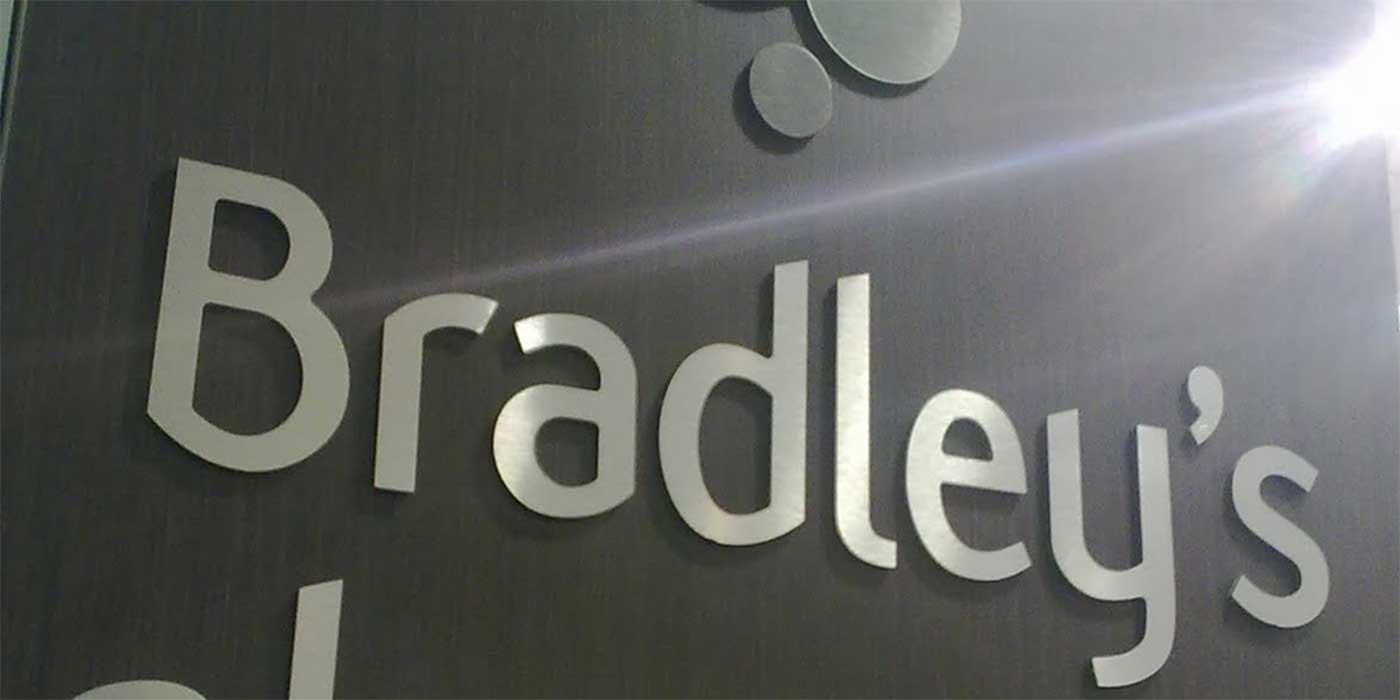 Photo of Bradley's Pharmacy sign