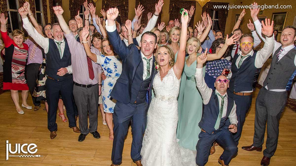Pick A Bale Of Cotton Juice Wedding Band Northern Ireland