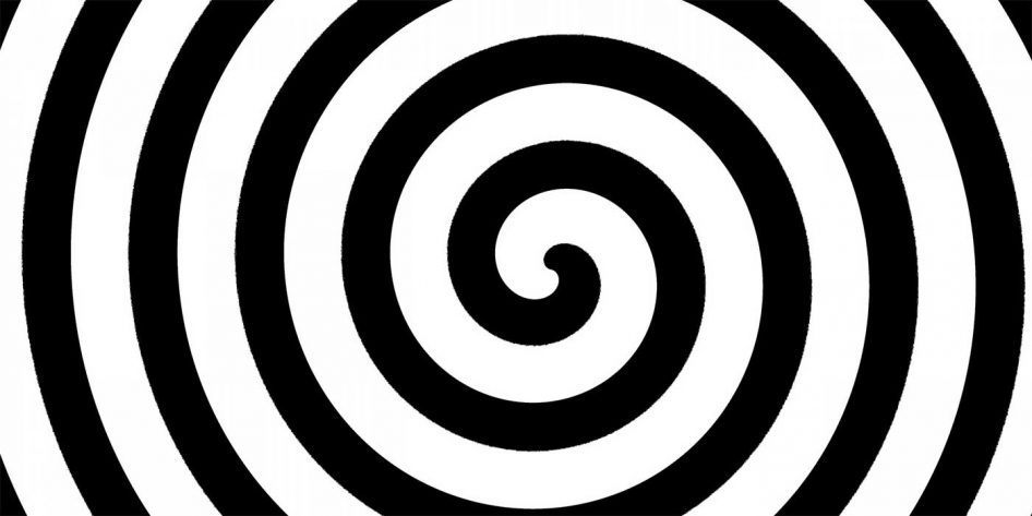 Picture of a hypnotic spiral