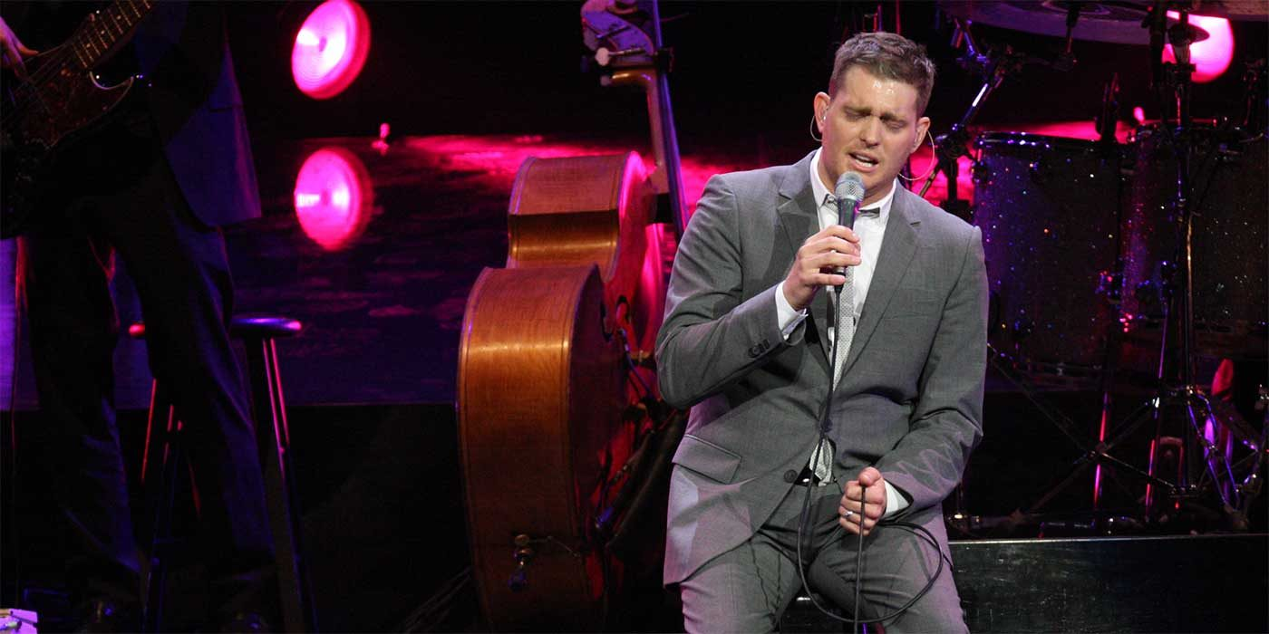 Photo of Michael Buble in Concert