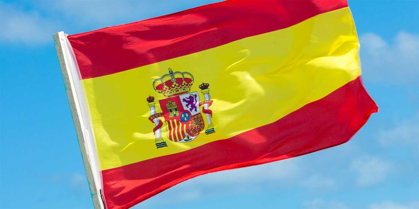 Photo of the Spanish flag
