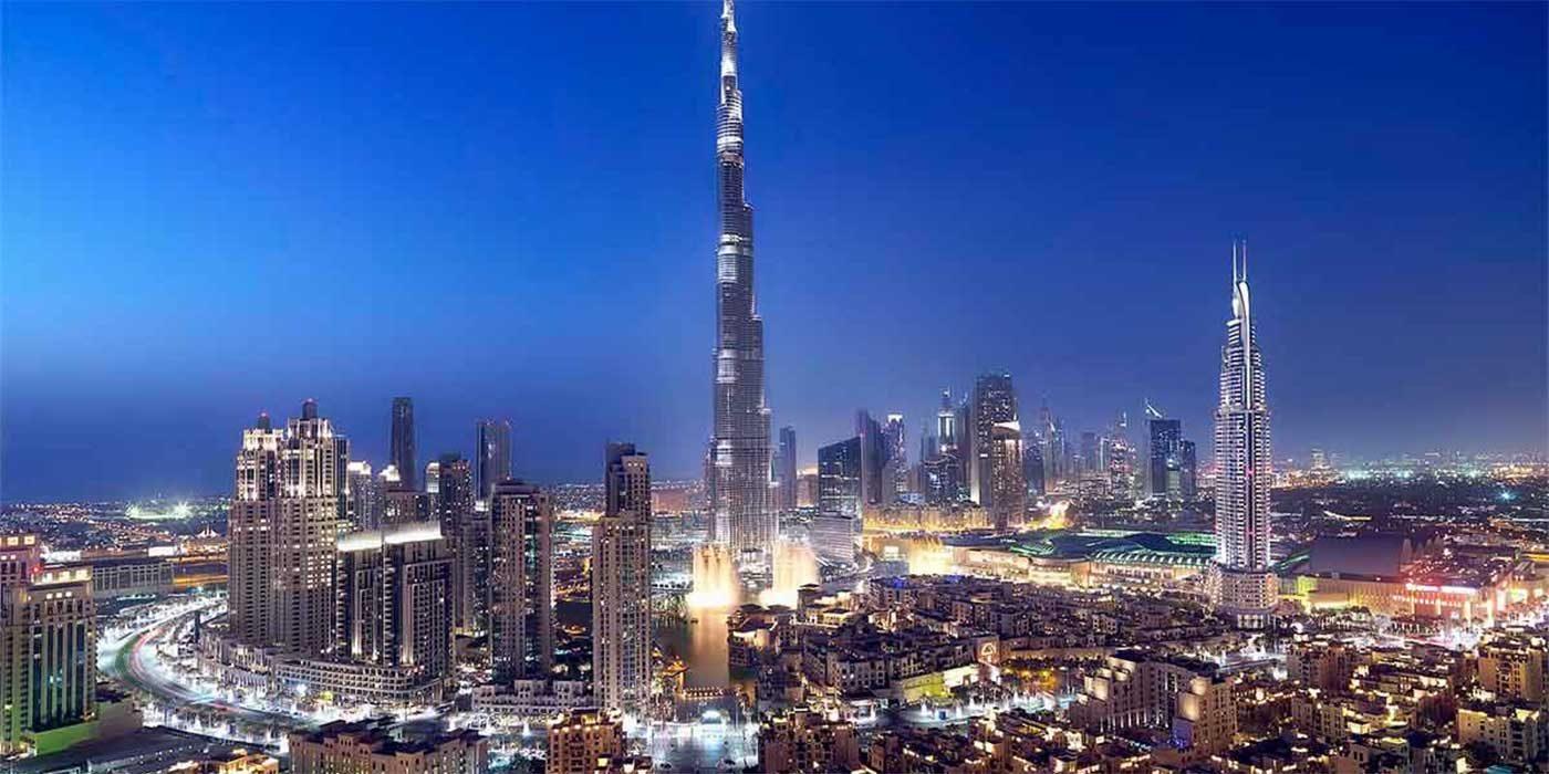 Photo of Dubai at night