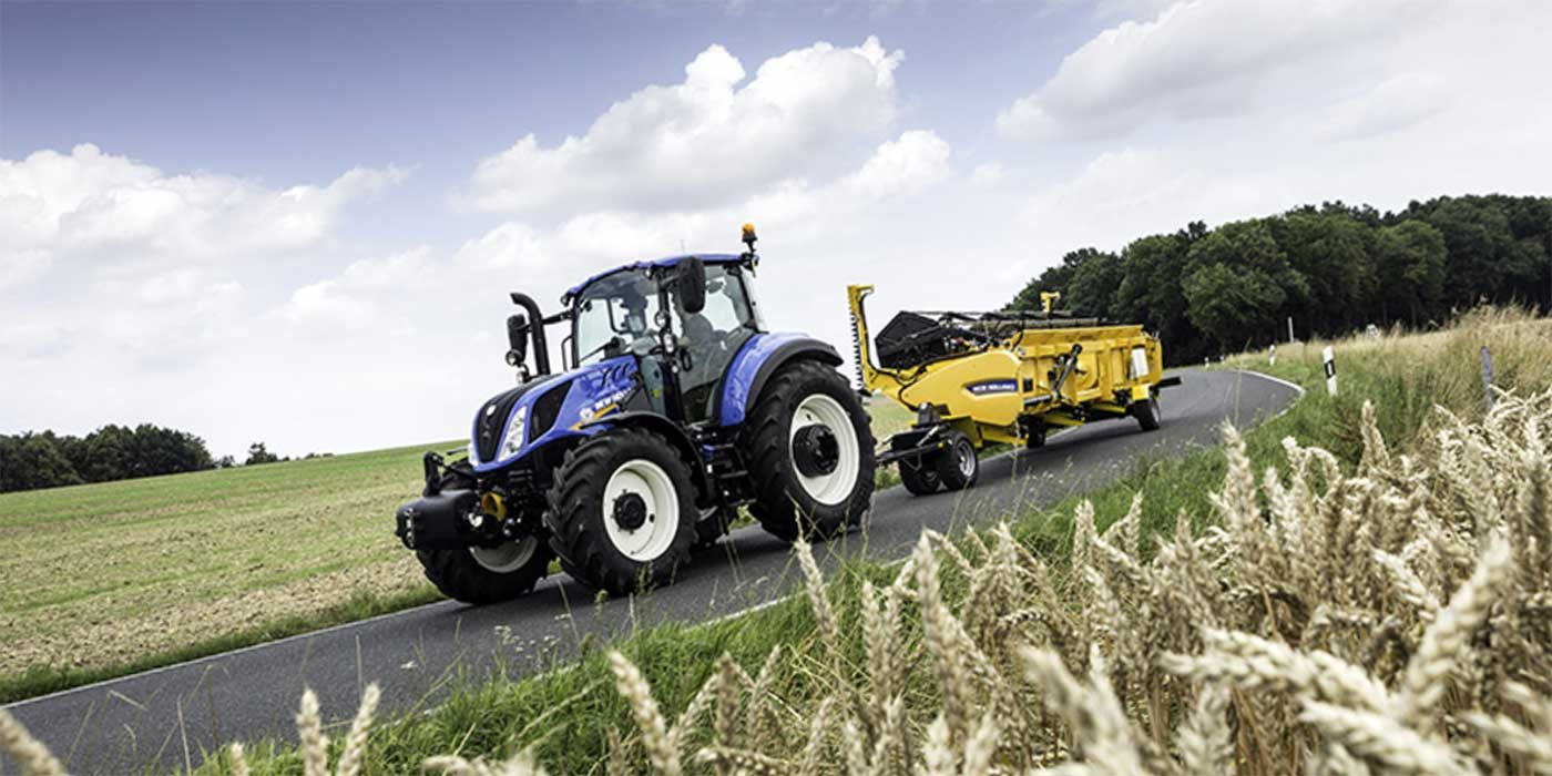 Photo of a New Holland tractor