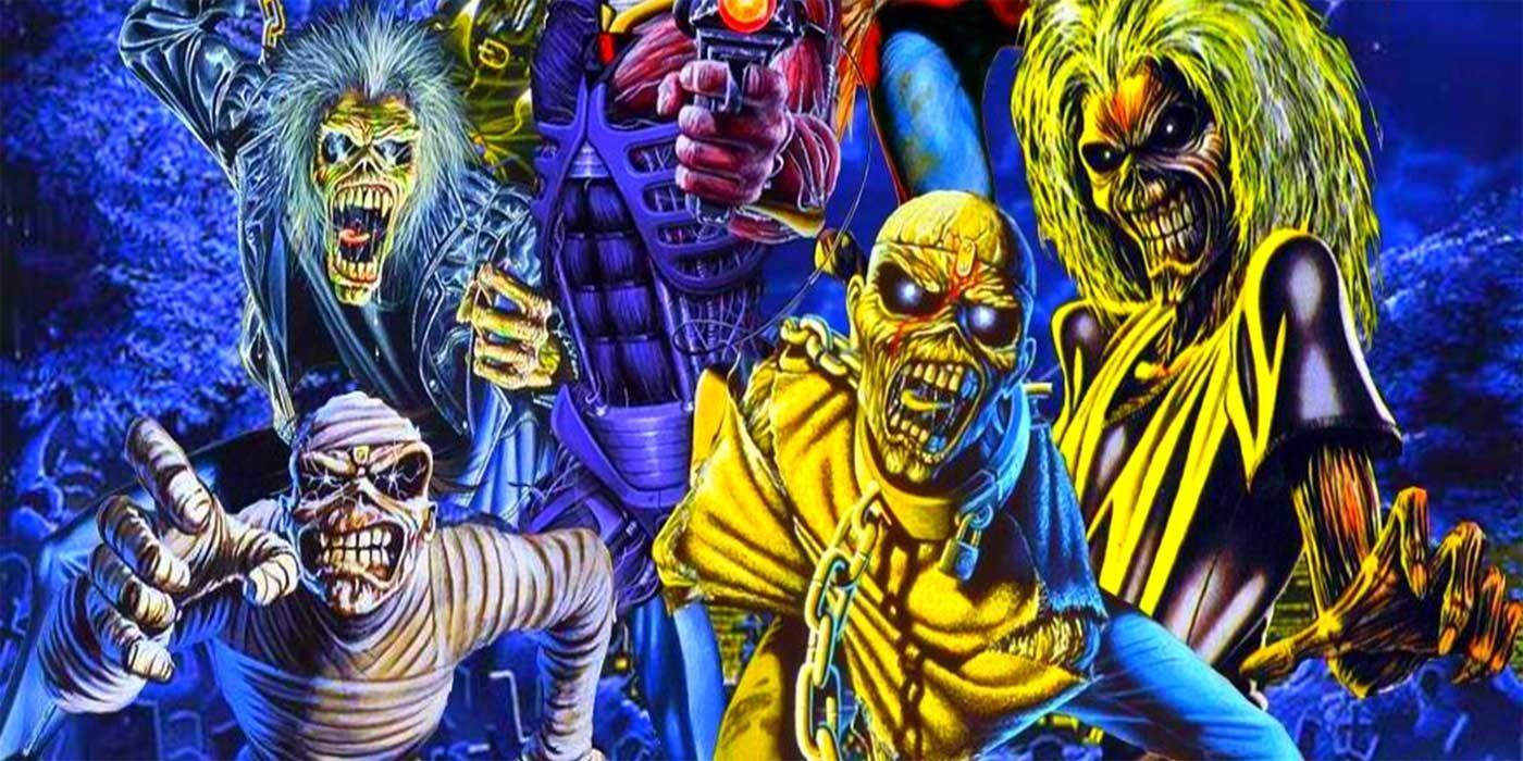Pic of various Iron Maiden Eddies