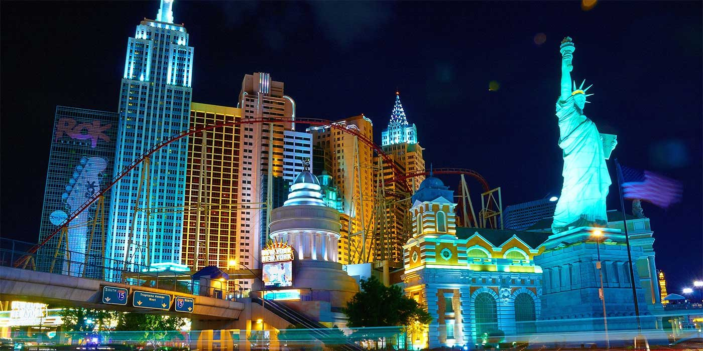 Photo of the New York Hotel in Las Vegas
