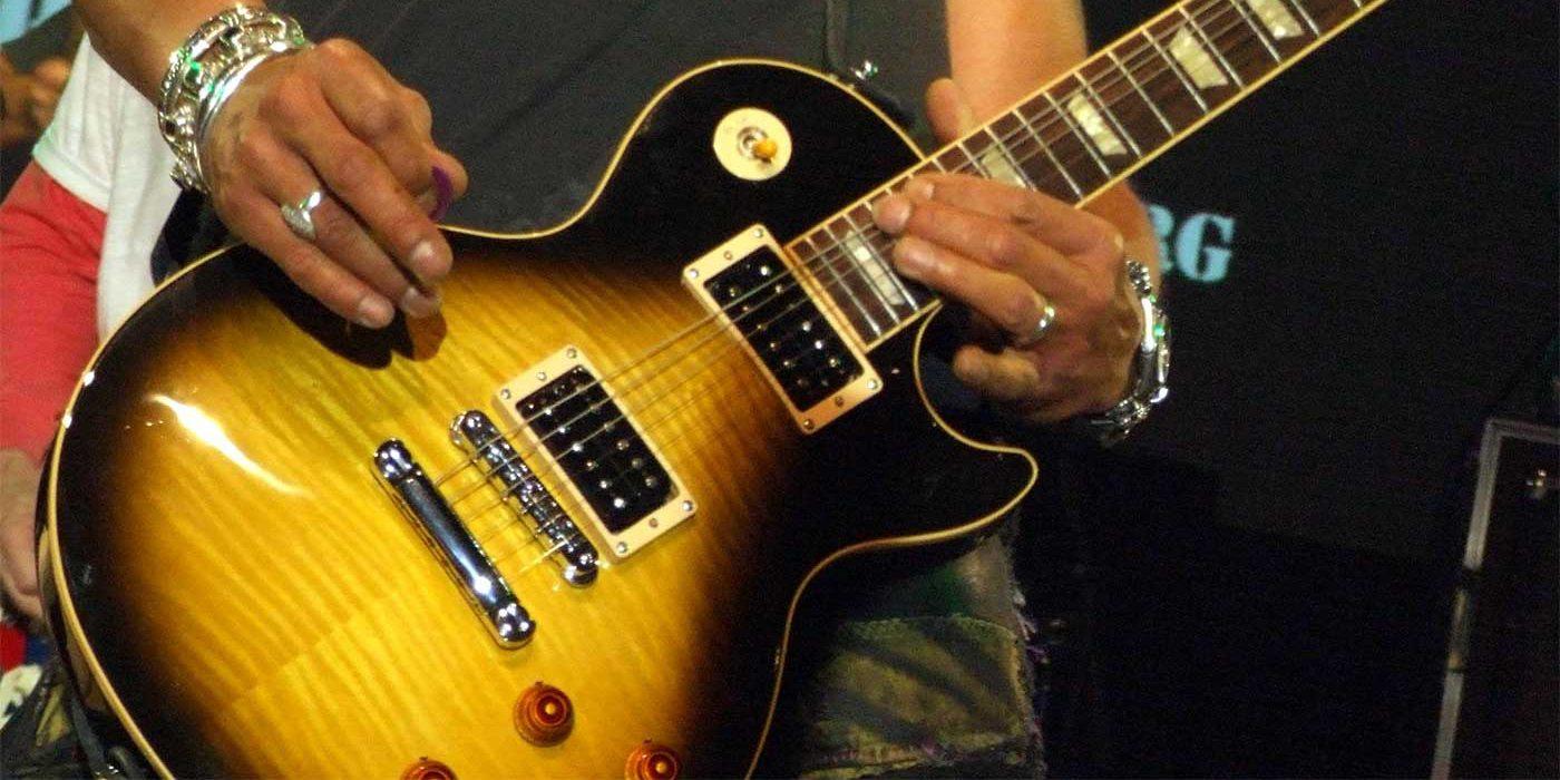 Photo of Slash from Guns n Roses