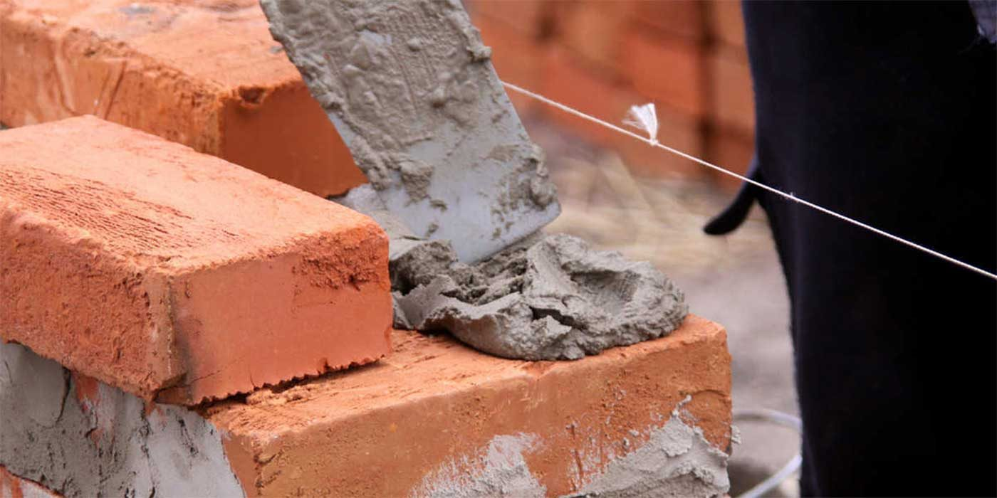 Photo of bricks and mortar