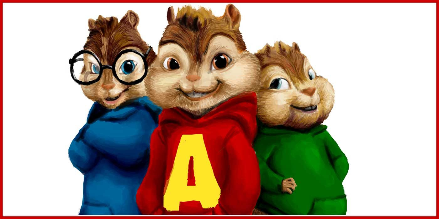 Drawing of Alvin and the Chipmunks