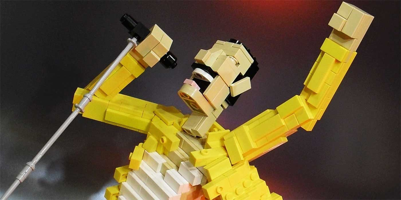 Photo of Freddie Mercury lego
