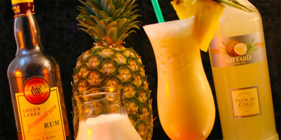 Photo of a Pina Colada cocktail