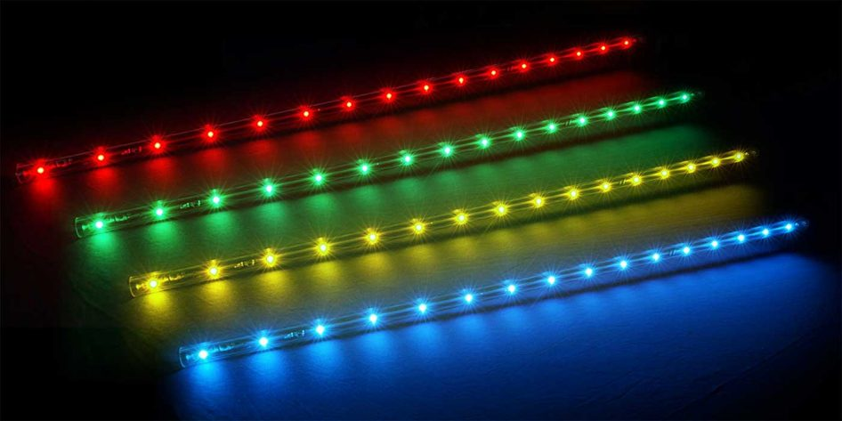 Photo of four Chauvet Freedom Stick LED light bars
