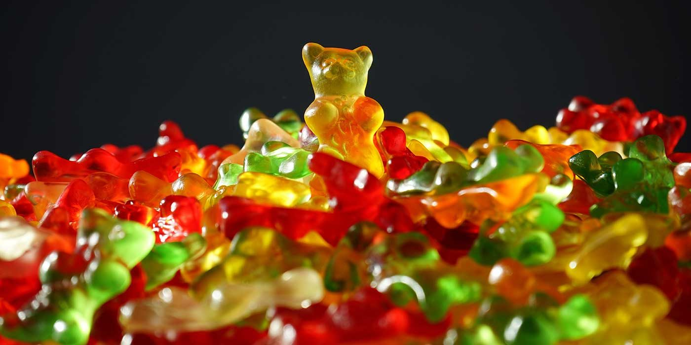 Photo of some jelly bears