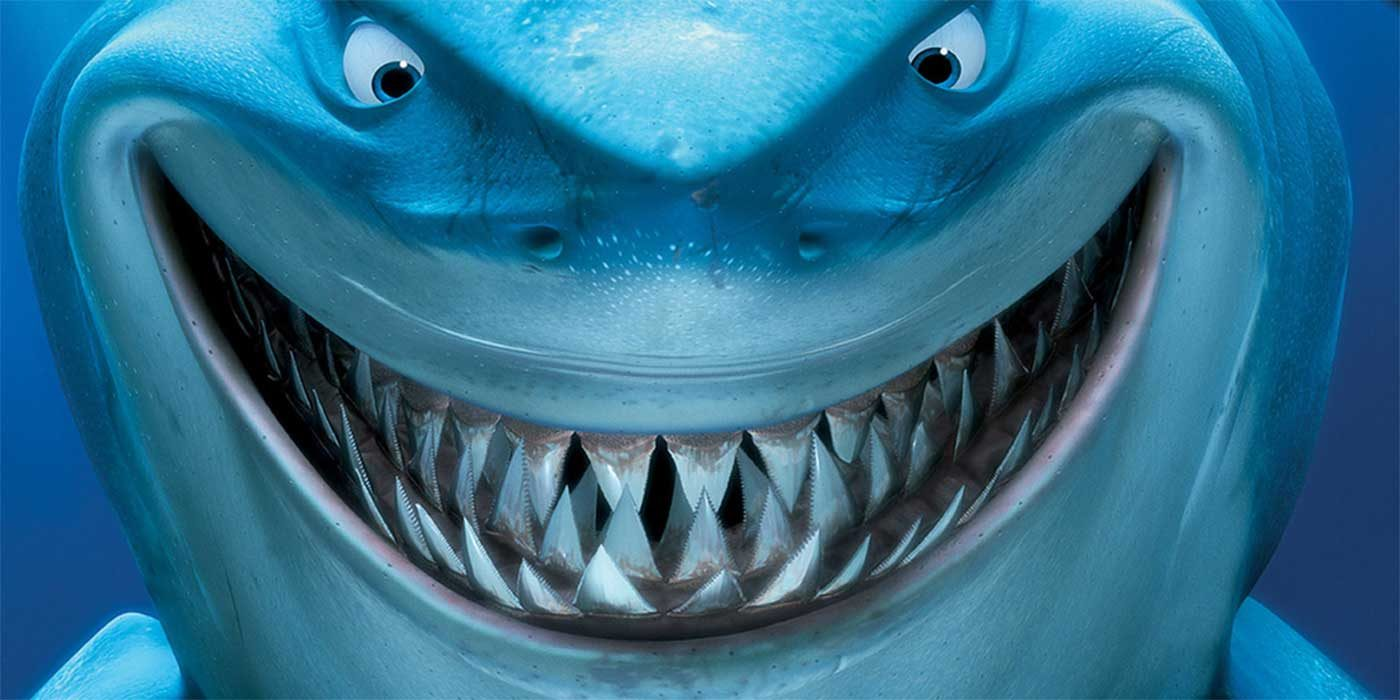 Picture of a shark from Finding Nemo