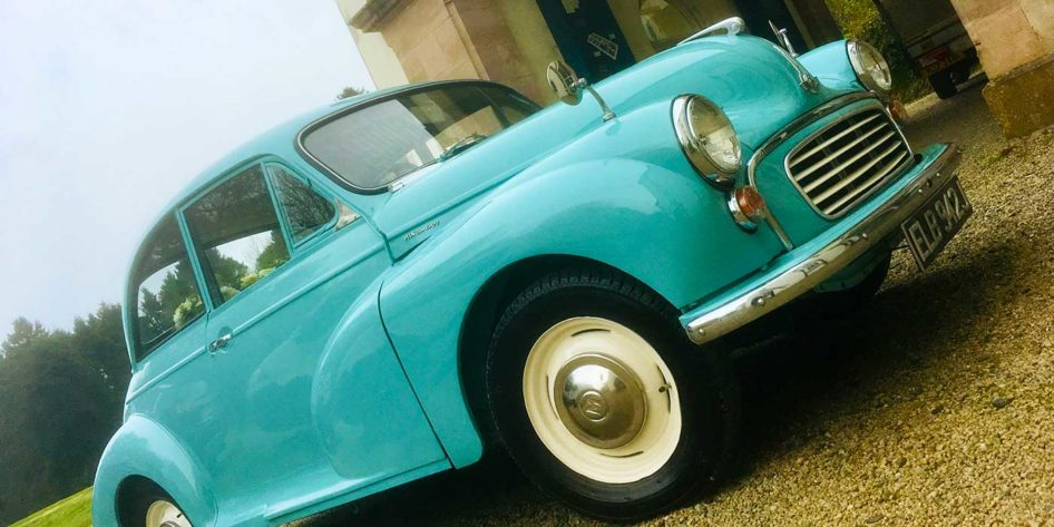 Photo of a Morris Minor car