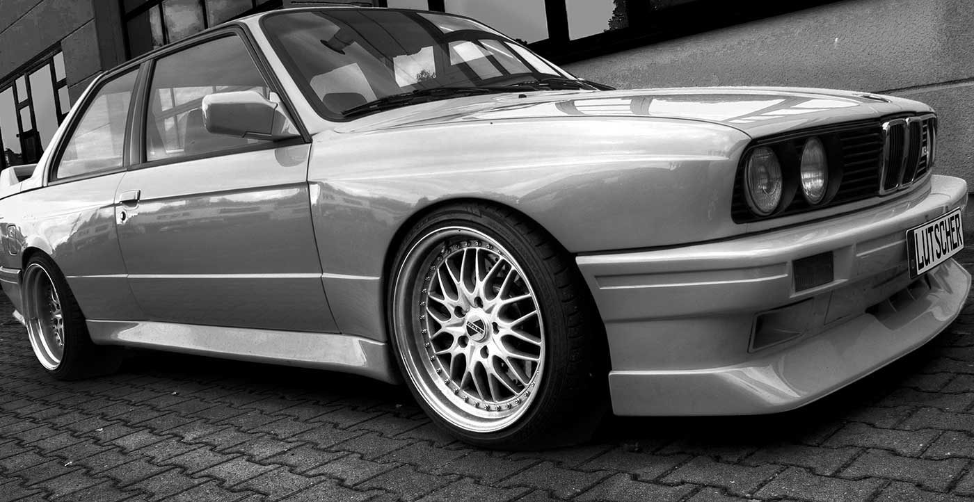 Photo of a BMW E30 car