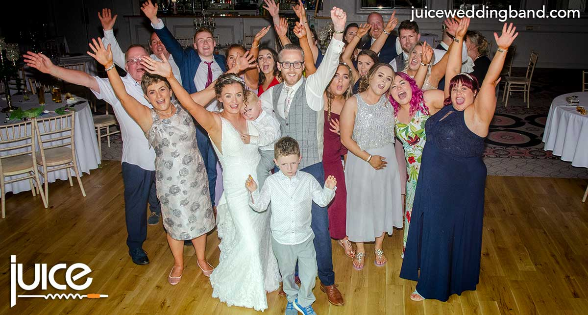 Photo of Orlagh, Kevin and their wedding guests