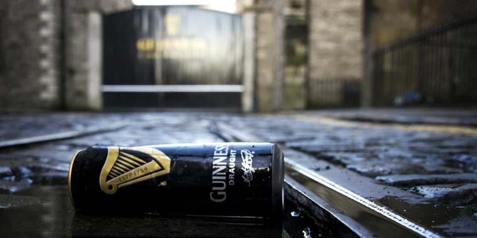 Photo of the Guinness factory in Dublin