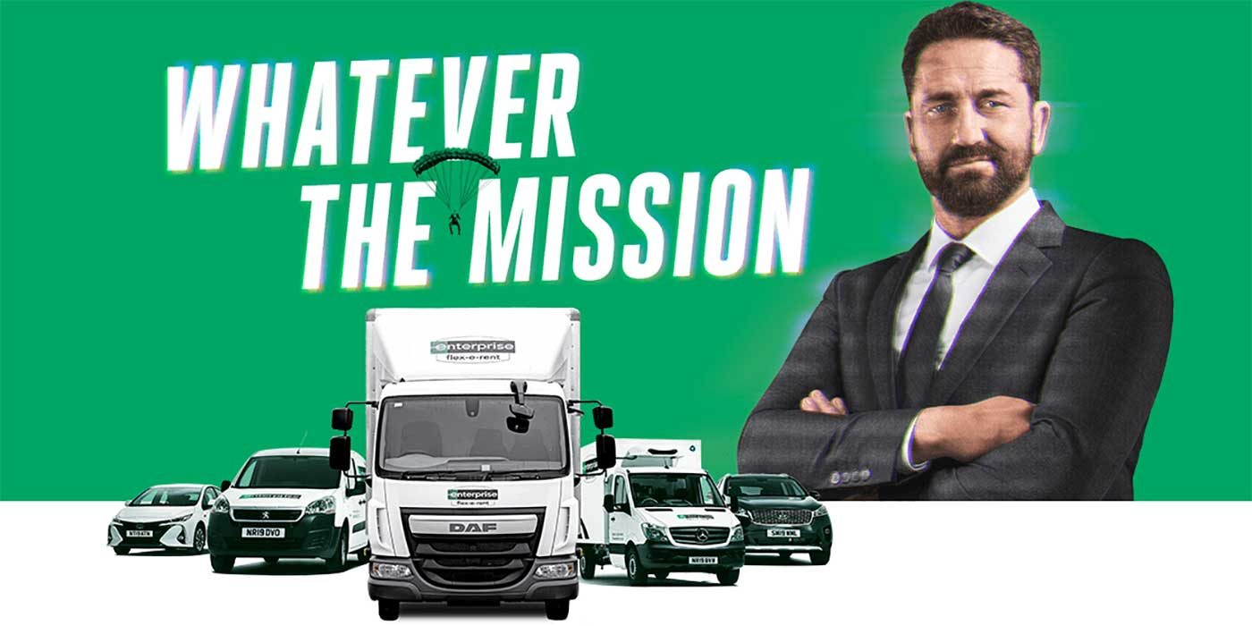 Photo of the current Whatever the mission Enterprise advert
