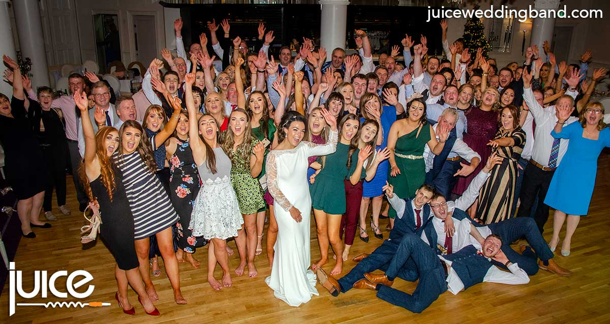 Photo of Shauna, Robert and their wedding guests