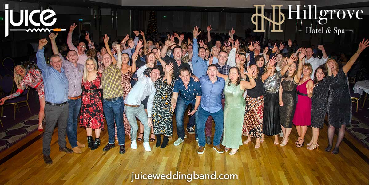 Photo of the guests at the Hillgrove Hotel Christmas Party December 2019